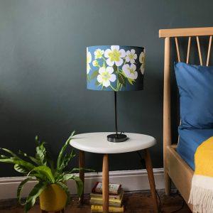 Hellebore Flower Designer Lamp Shade 30cm