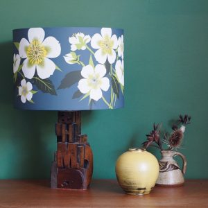 Hellebore Flower Lamp Shade 30cm