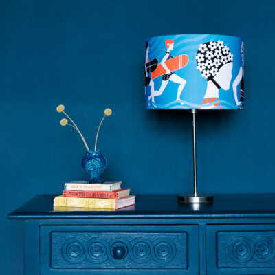 Surf Seaside lampshade