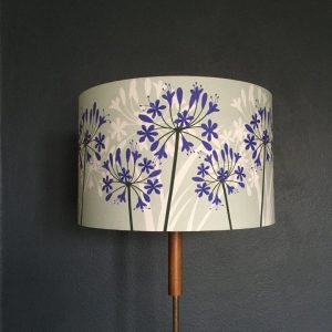 Agapanthus Lamp Shade 30cm Diameter
