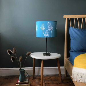 Teasel Blue lamp shade 30cm