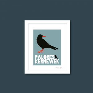 Cornish Chough print