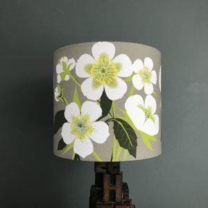 Beige Hellebore Lamp Shade 20cm