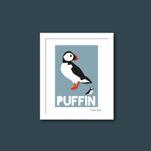 Puffin print