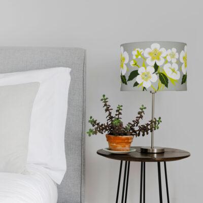Hellebore design lampshade