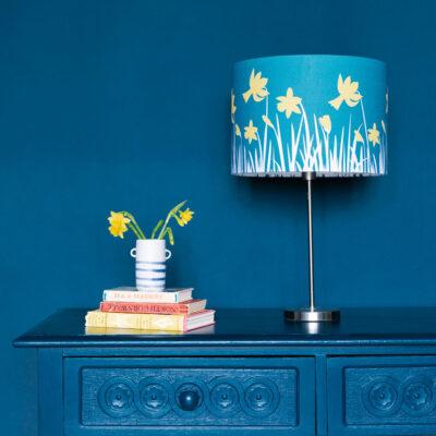 Daffodil lampshade