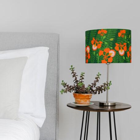 Flamboyant Tropical flower