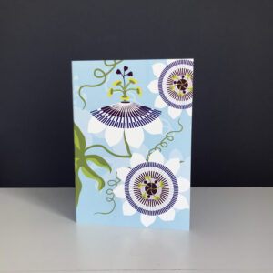 Passiflora Greeting Card