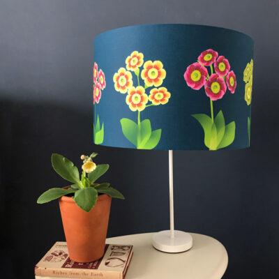 Auricula Theatre designer fabric lampshade