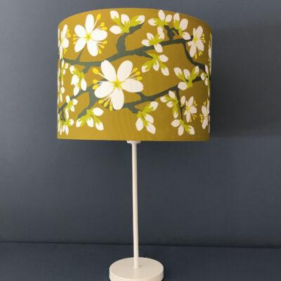 Blackthorn Blossom Designer Lampshade