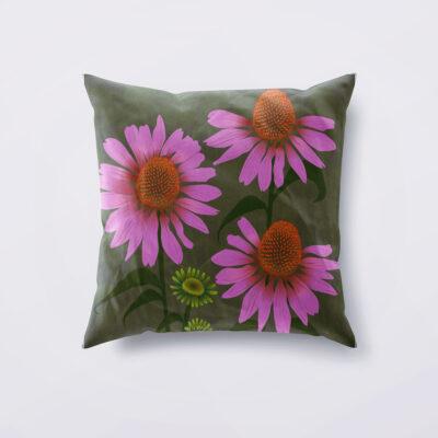 Echinacea Designer Cushion