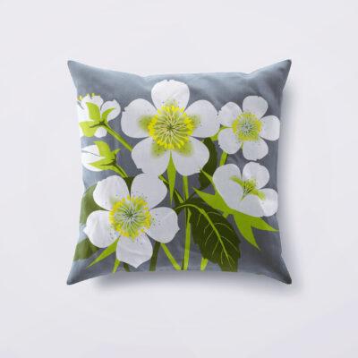 Hellebore Designer Cushion