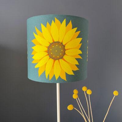Sunflower lampshade